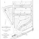 Rosemont Map - 1908