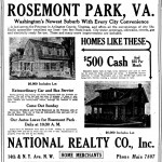 Washington Times Ad - July 22, 1922
