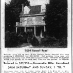 Washington Star Ad - July 30, 1955