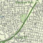 1968 Metro Planning Map Excerpt