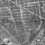 Rosemont aerial view, c. 1949