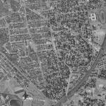 Rosemont aerial view, c. 1964