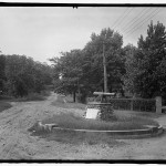 Cannon at Braddock Road and Russell Road, c. 1916