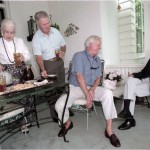 Betty Murphy, Bob Murphy, Owen Malone, and Daniel Fairfax O'Flaherty, 1996