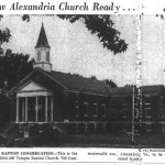 Temple Baptist Church, 700 Commonwealth Avenue, 1949