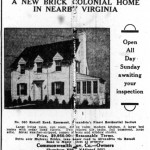Washington Star Ad - March 8, 1933