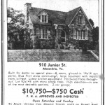 Washington Star Ad - July 13, 1940