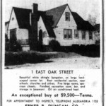 Washington Star Ad - March 31, 1945