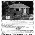 Washington Star Ad - June 20, 1953