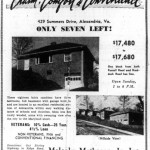 Washington Star Ad - April 10, 1954