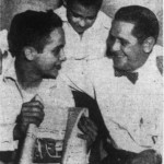 Jack Lee Flowers, Jr. with his brother and father, 1955