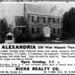 Washington Star Ad - September 14, 1957