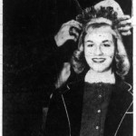 Betty Kilroy of 15 West Masonic View is crowned Valentine Sweetheart at George Washington High School, 1958