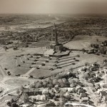 Rosemont (lower left) and the George Washington Masonic National Memorial, 1961