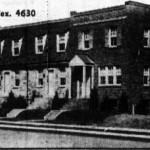 Unit block of East Linden Street, 1938