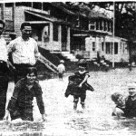 Rosemont after a major rainstorm, September 2, 1922