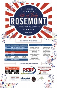 Rosemont Celebrates the Fourth